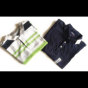 Other - Men's 2 polo shirt bundle, Utility Polo, Gap, xxl
